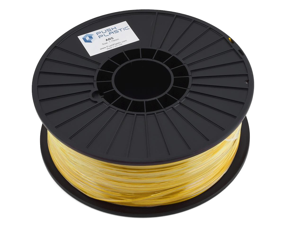 Push Plastic 1.75mm ABS 3D Printer Filament (Yellow) (1.0kg)