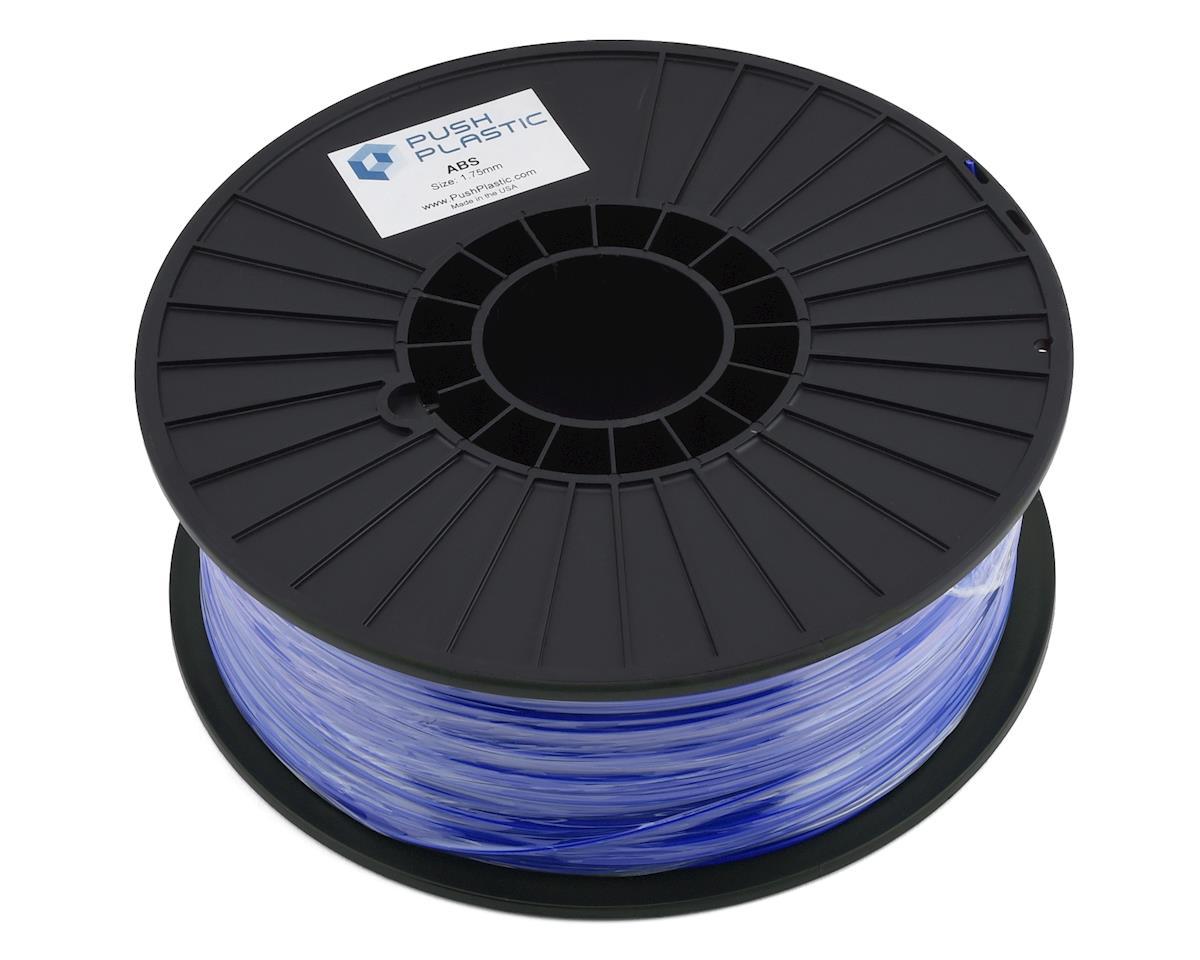 Push Plastic 1.75mm ABS 3D Printer Filament (Ultra Blue) (1.0kg)