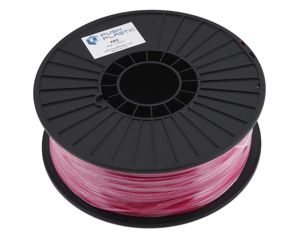 Push Plastic 1.75mm ABS 3D Printer Filament (Pink) (1.0kg)