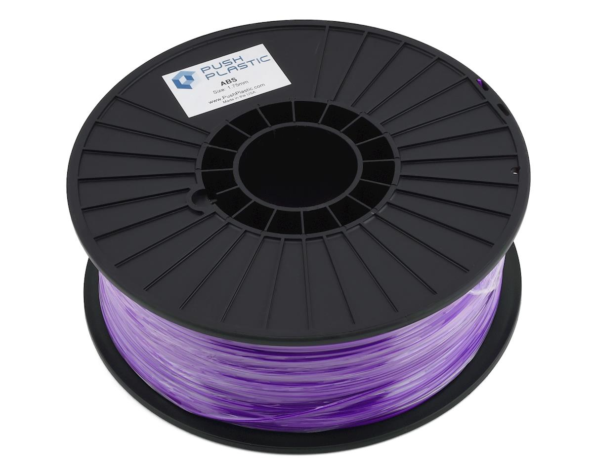 Push Plastic 1.75mm ABS 3D Printer Filament (Purple) (1.0kg)