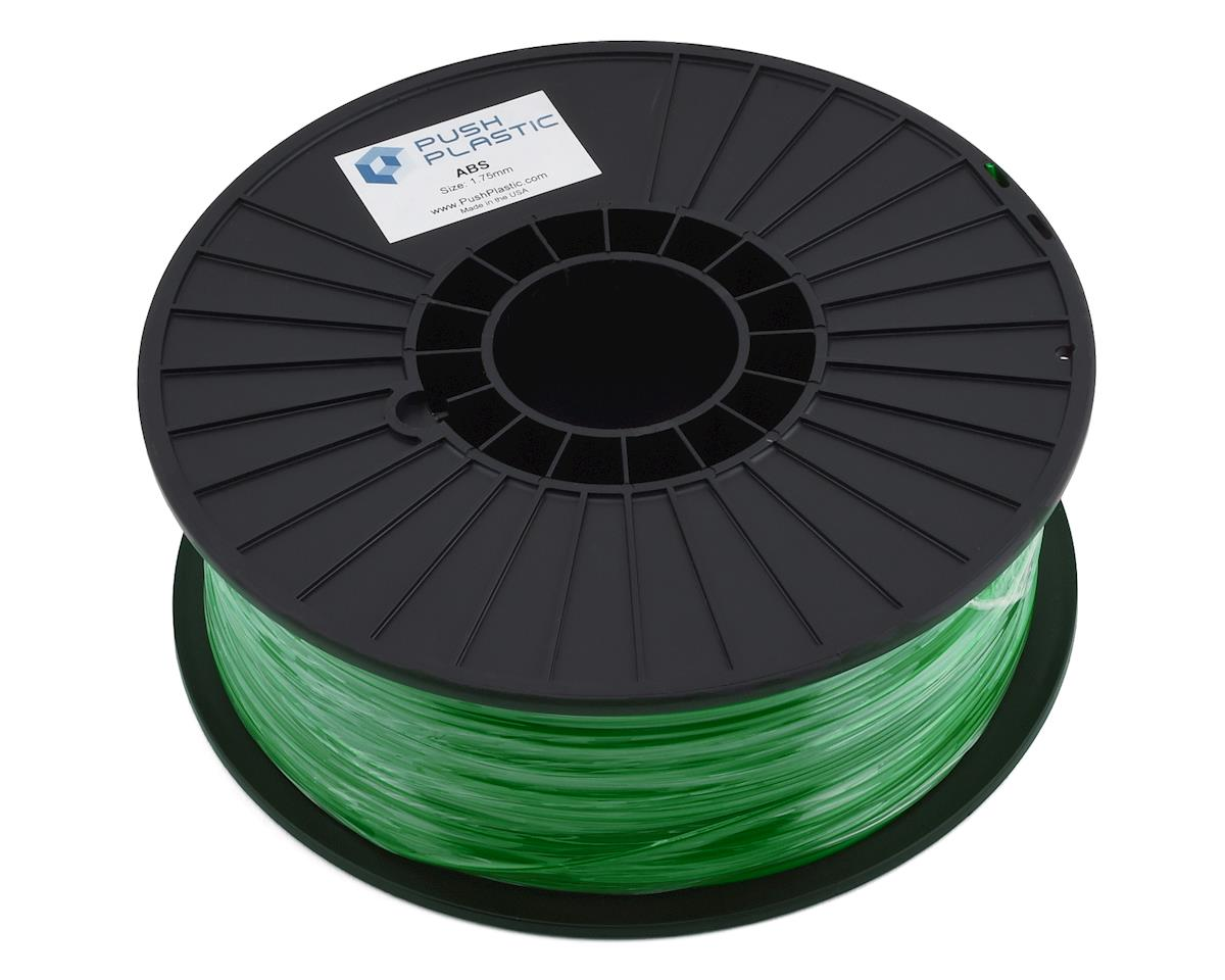 Push Plastic 1.75mm ABS 3D Printer Filament (Green) (1.0kg)