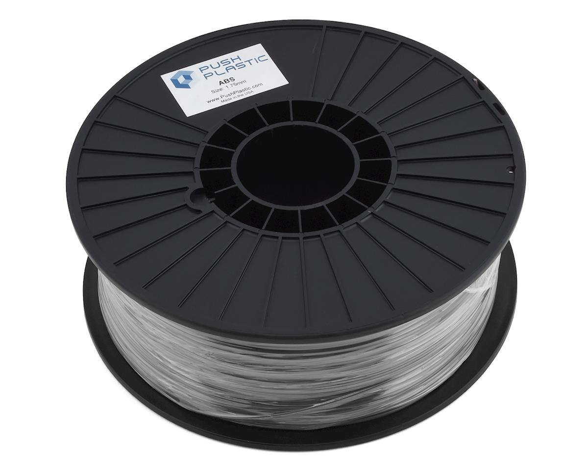 Push Plastic ABS 3D Printer Filament (Silver Metallic)