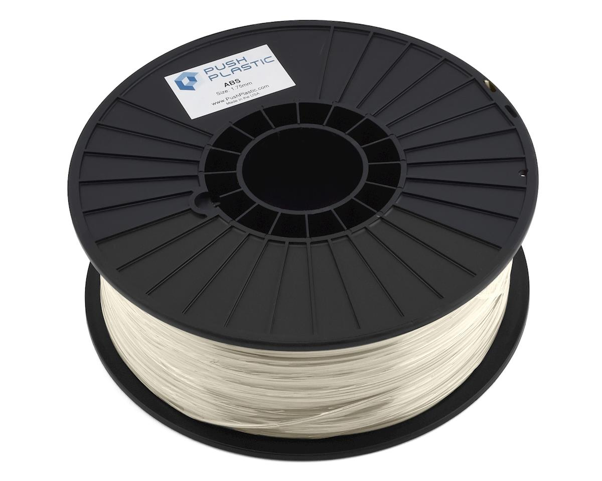 Push Plastic 1.75mm ABS 3D Printer Filament (Natural) (1.0kg)