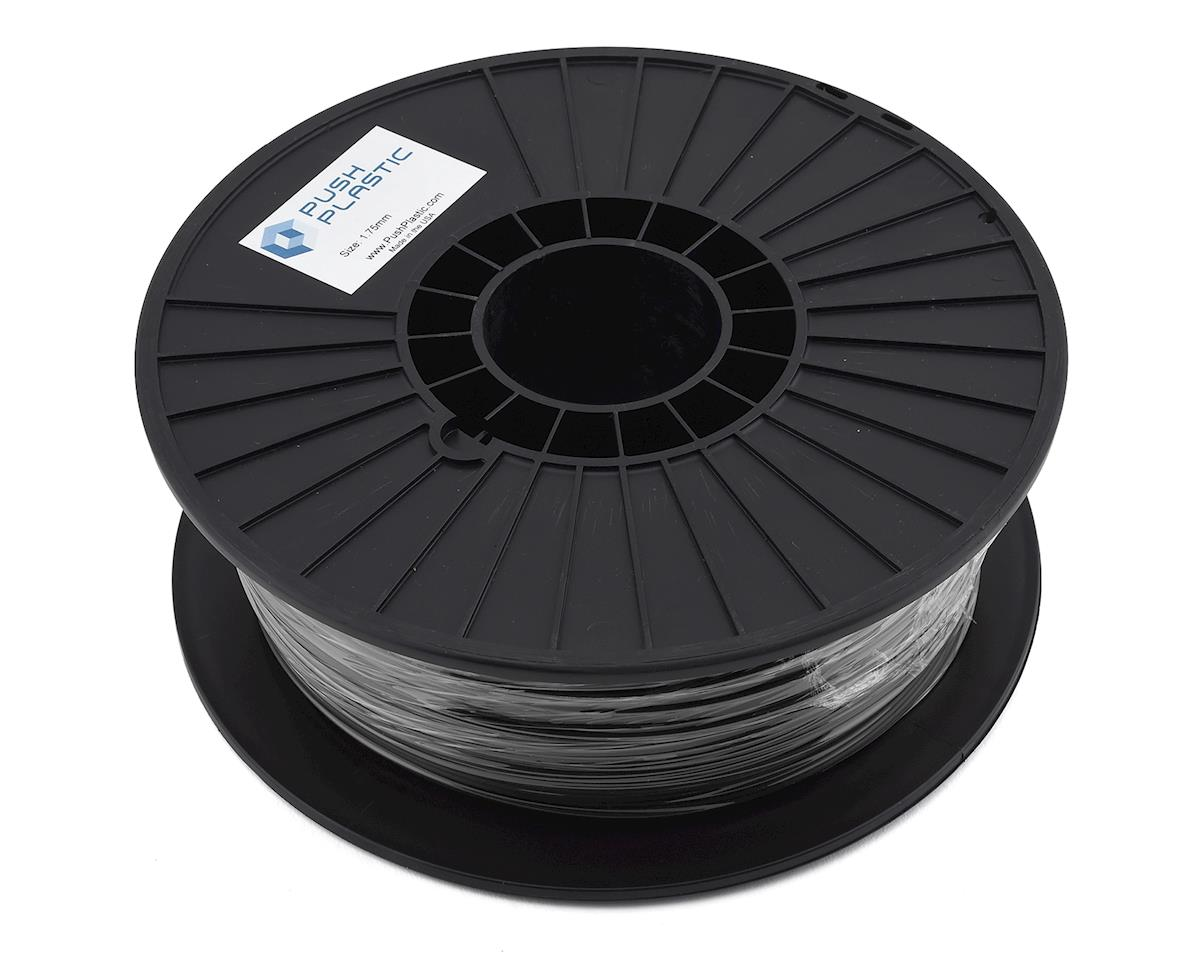 Push Plastic 1.75mm PETG 3D Printer Filament (Black) (.75kg)