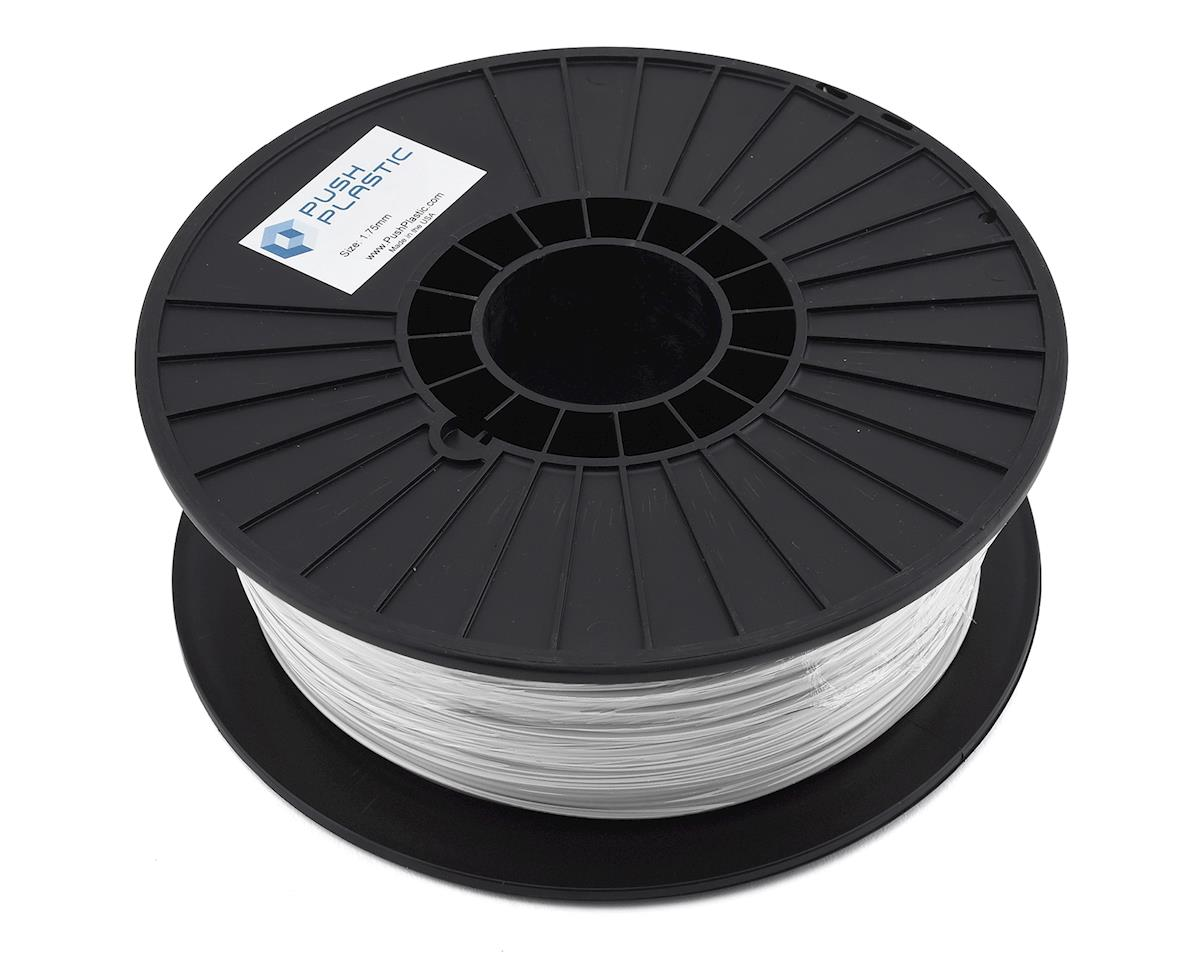 Push Plastic 1.75mm PETG 3D Printer Filament (White) (.75kg)