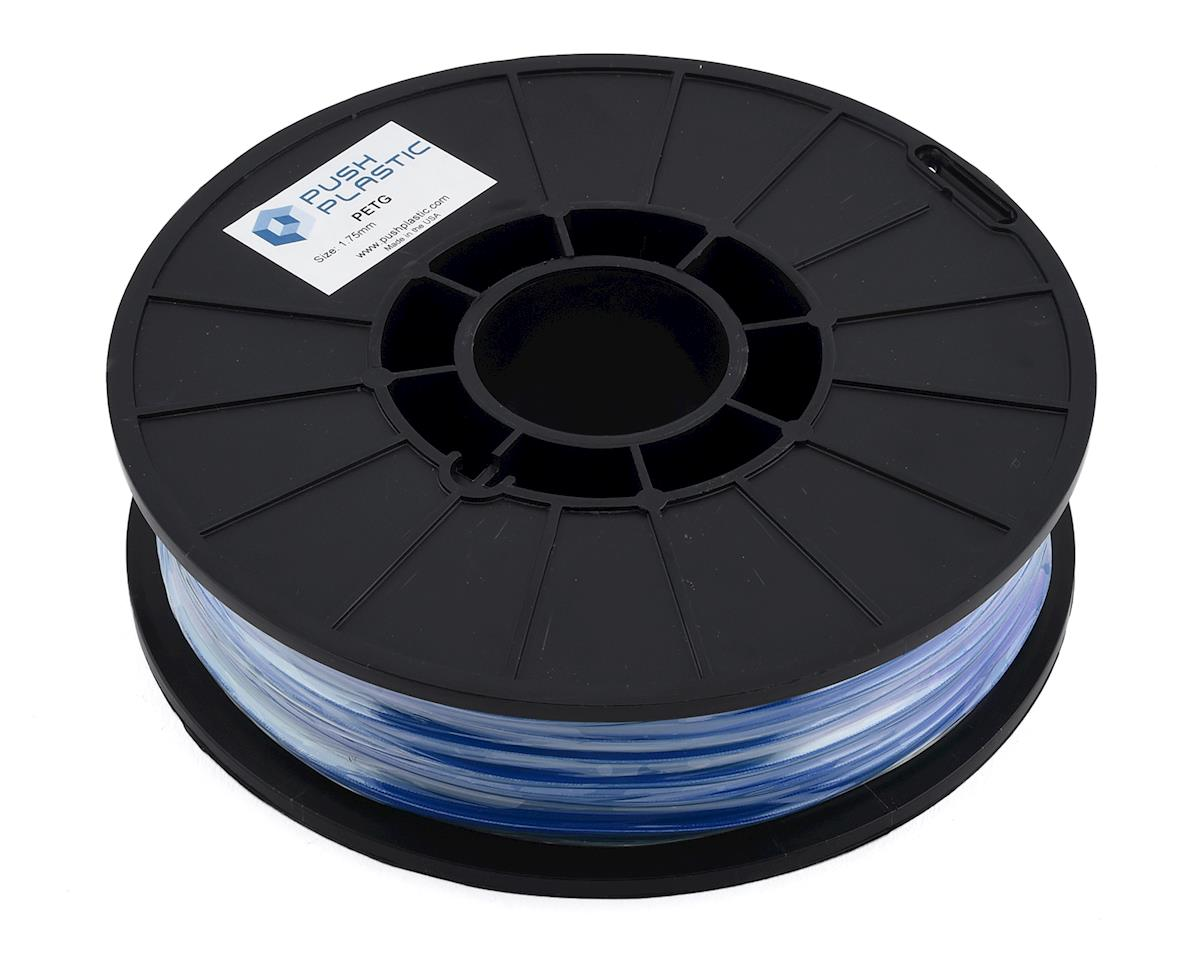 Push Plastic 1.75mm PETG 3D Printer Filament (Blue) (.75kg)