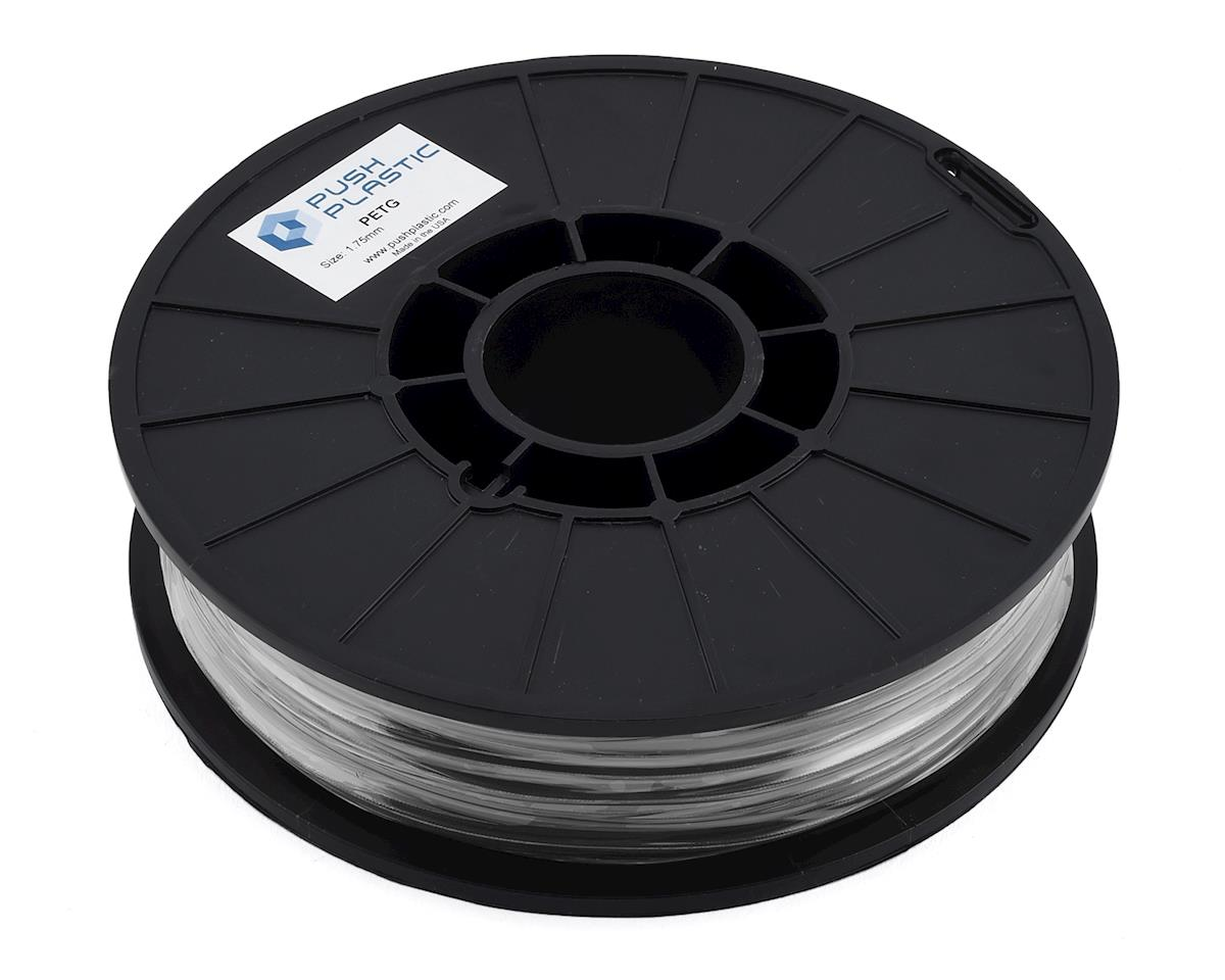 Push Plastic 1.75mm PETG 3D Printer Filament (Silver) (.75kg)
