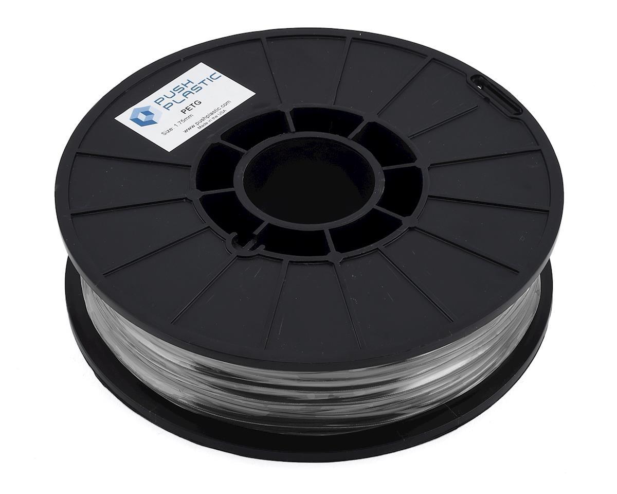 Push Plastic 1.75mm PETG 3D Printer Filament (Carbon Fiber) (.75kg)