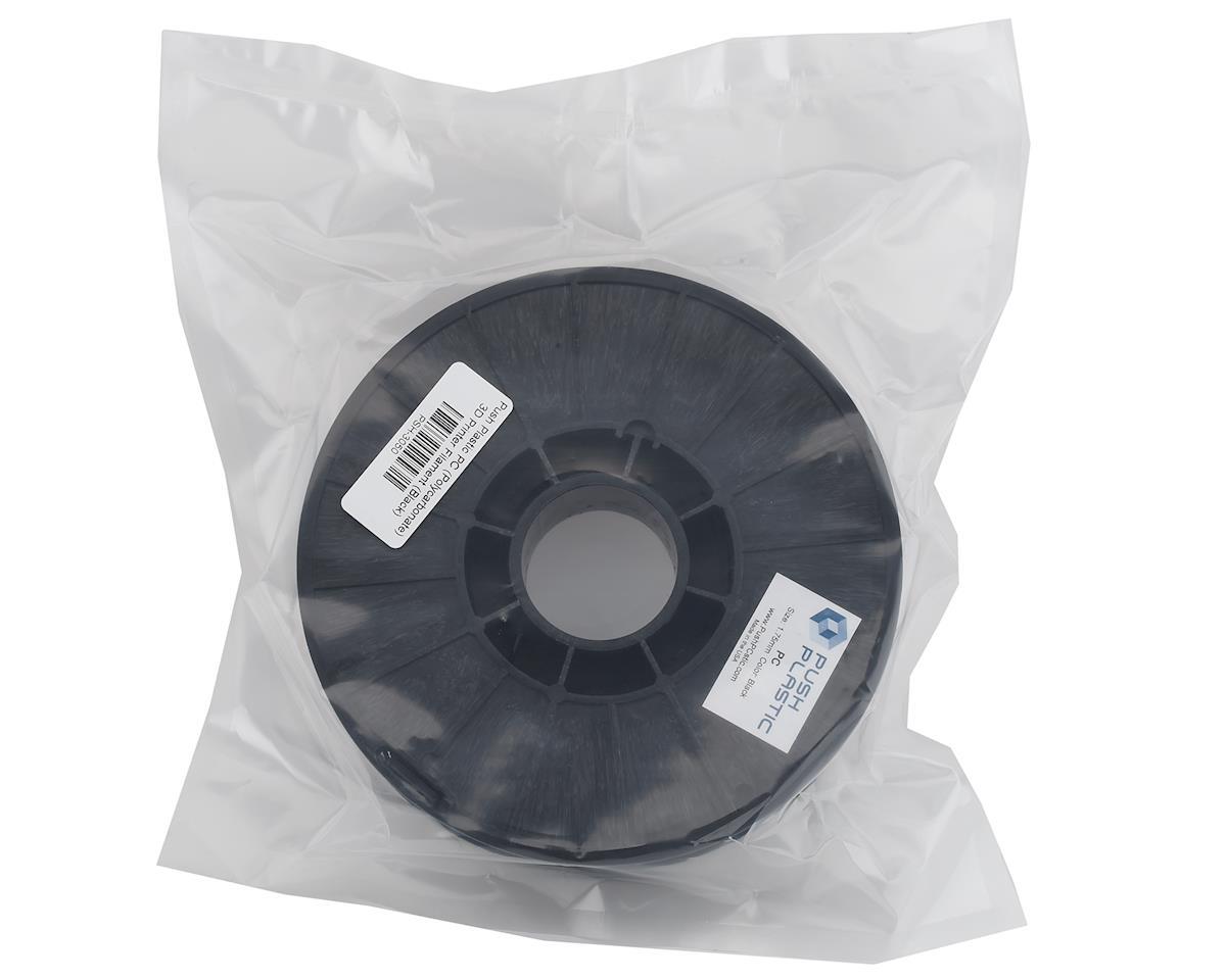 Push Plastic 1.75mm PC (Polycarbonate) 3D Printer Filament (Black) (.75kg)