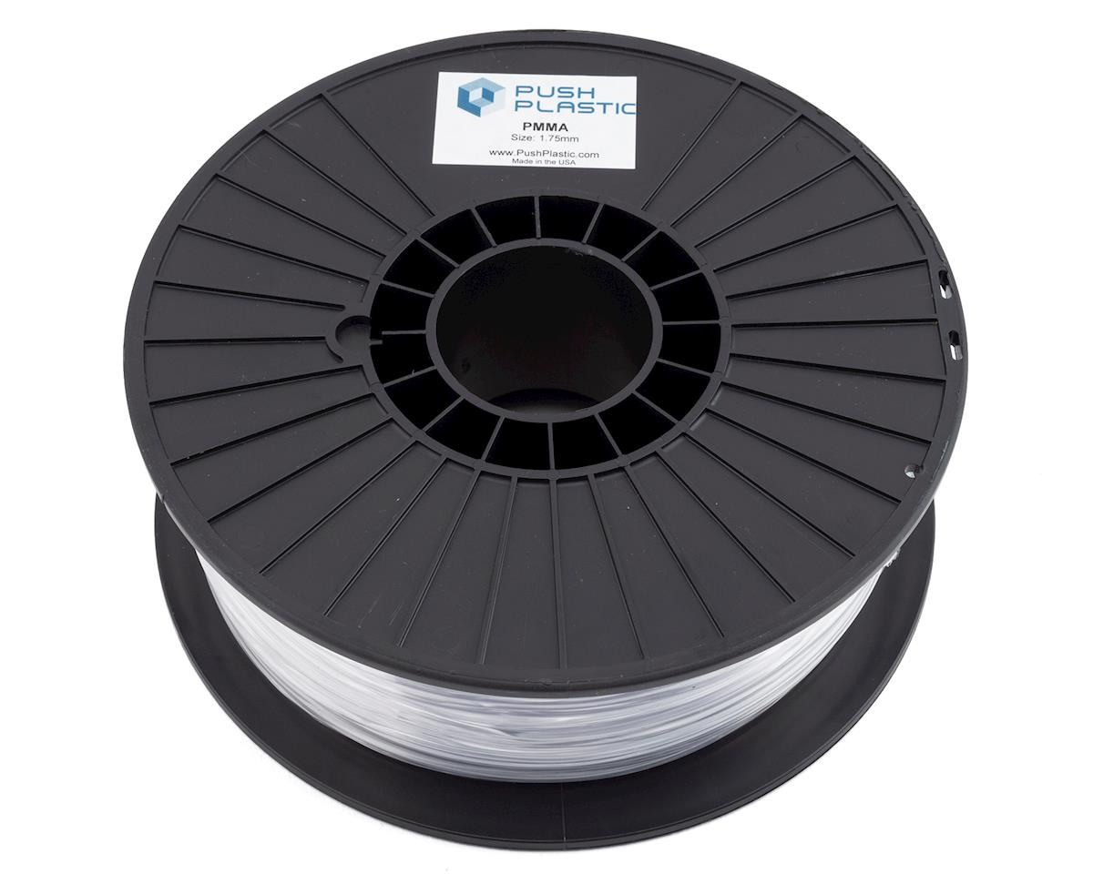Push Plastic 1.75mm PMMA 3D Printer Filament (Acrylic ) (Clear) (1kg)