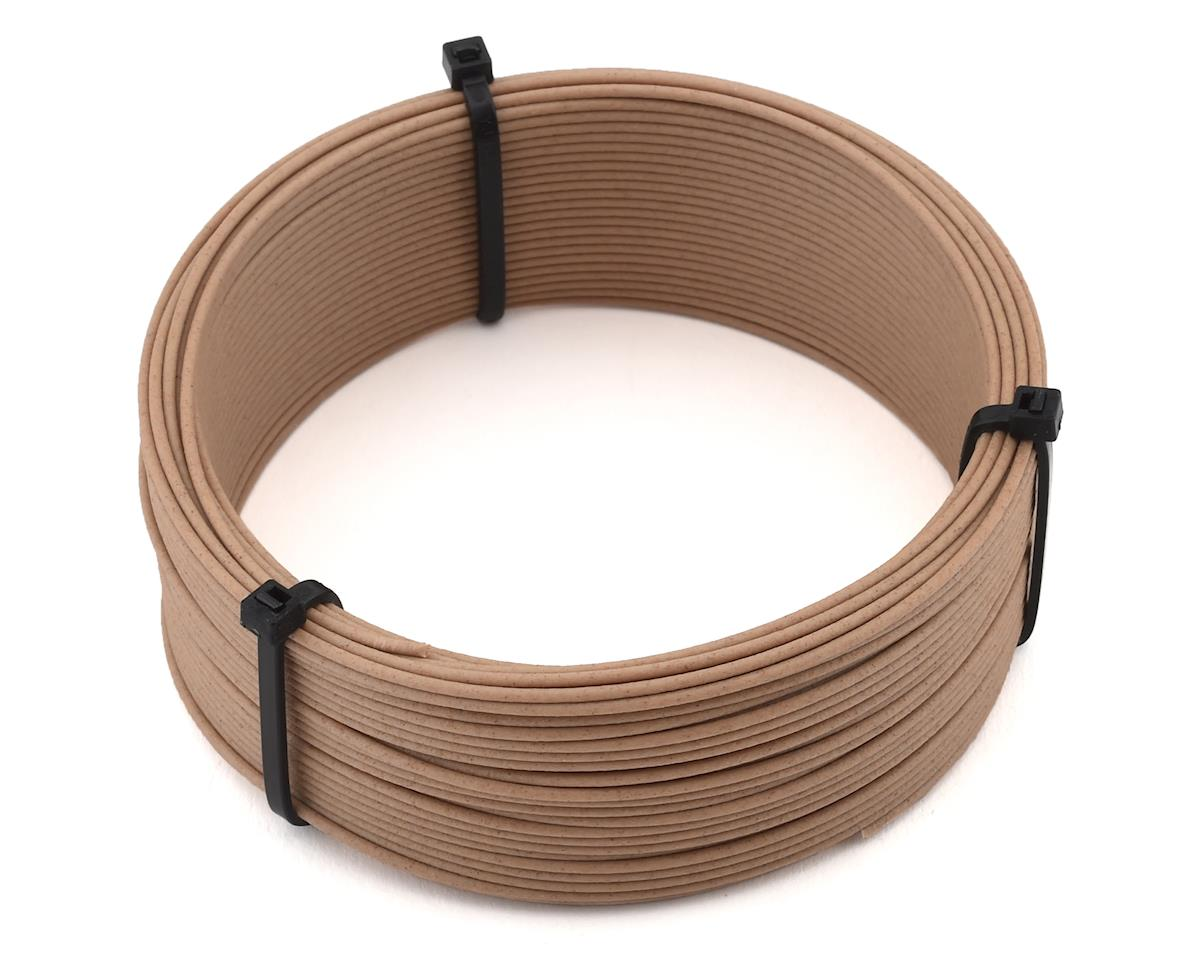 Push Plastic 1.75mm PLA 3D Printer Filament Woodfill Sample (.1kg)
