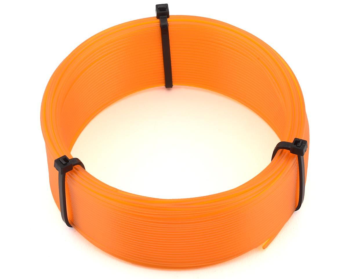 Orange PSH-5003 Push Plastic 1.75mm PETG 3D Printer Filament Sample .1kg