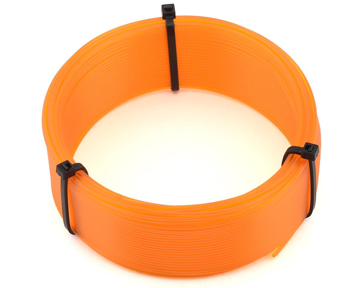 Push Plastic 1.75mm PETG 3D Printer Filament Sample (Orange) (.1kg)