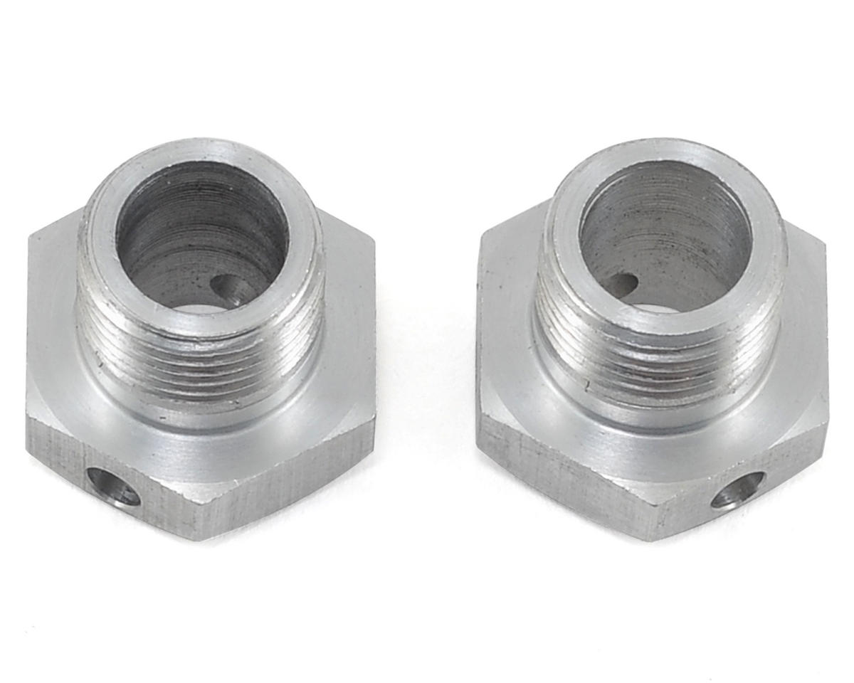 PSM Aluminum S350 Wheel Hubs (Silver) (2) (-1 Offset)