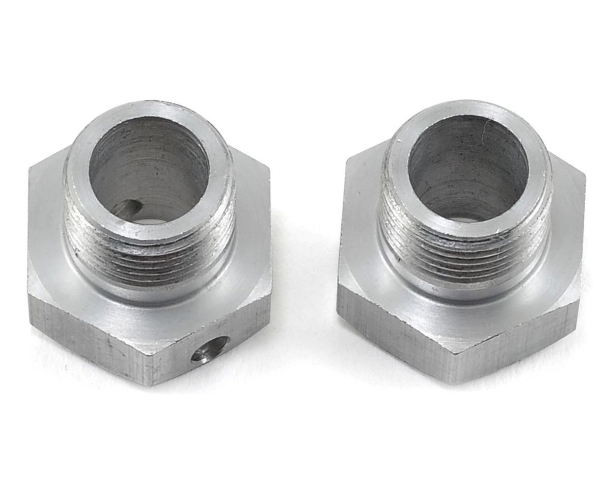 PSM Aluminum Wheel Hubs (Silver) (2) (0 Offset)