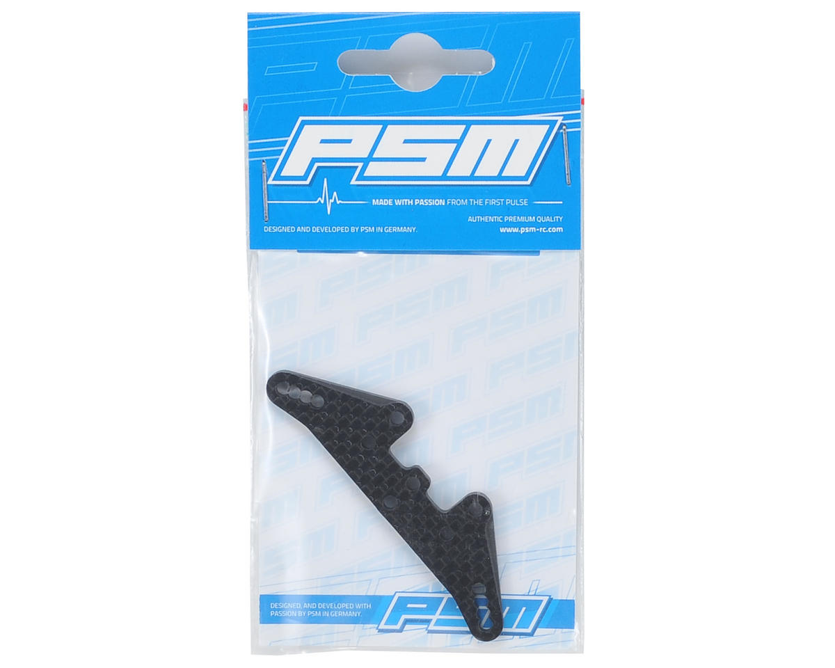 PSM 3mm TC6.2 Carbon Front Shock Tower