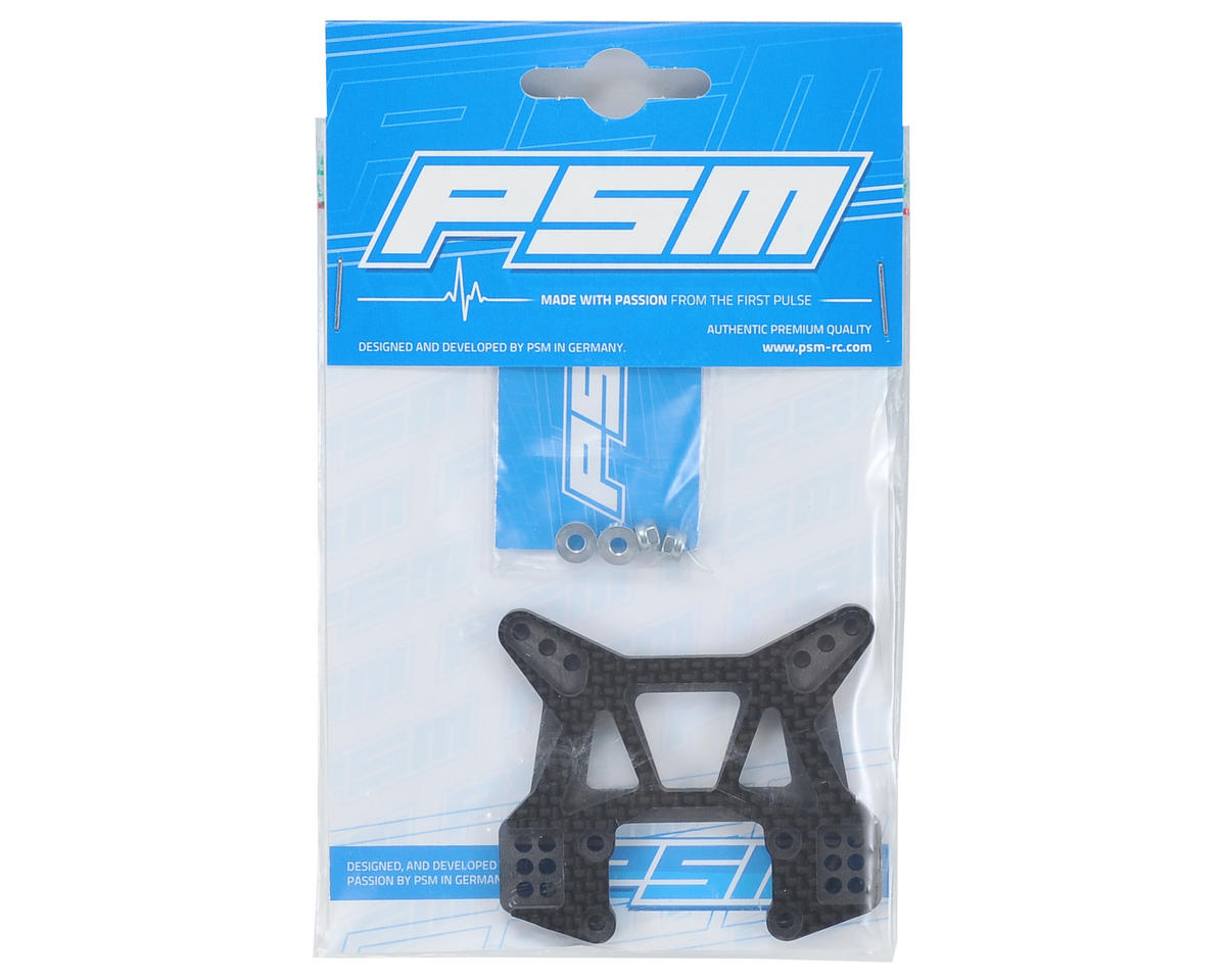 PSM 5mm B5M Carbon V2 Front Shock Tower