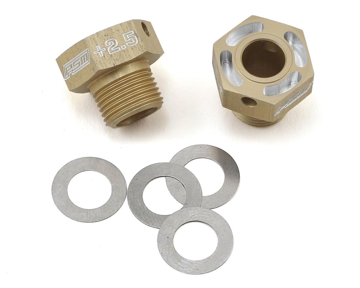 PSM RC8B3 Aluminum Hex Drives (+2.5mm) (2)