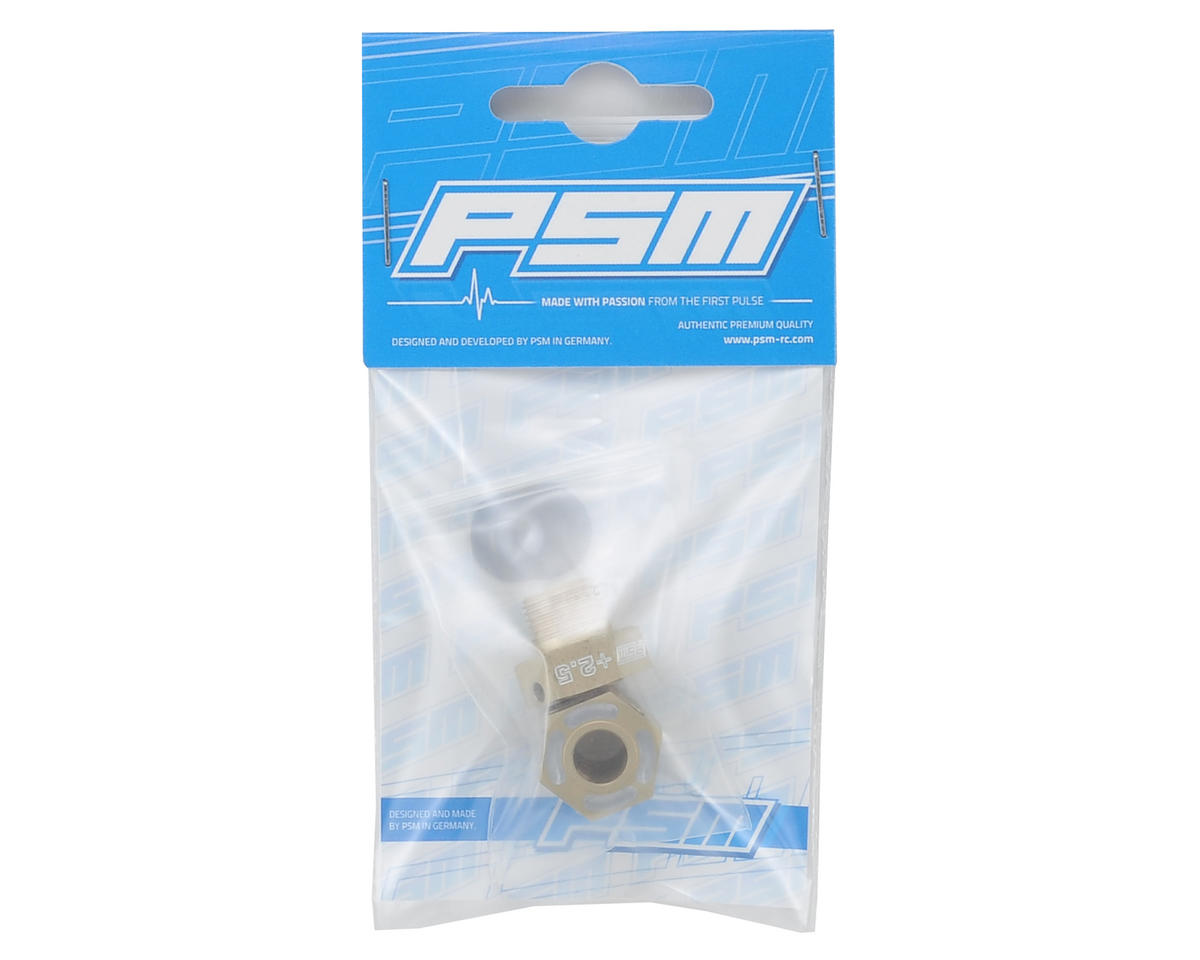 PSM RC8B3 Aluminum Hex Drives (+2.5mm) (2)