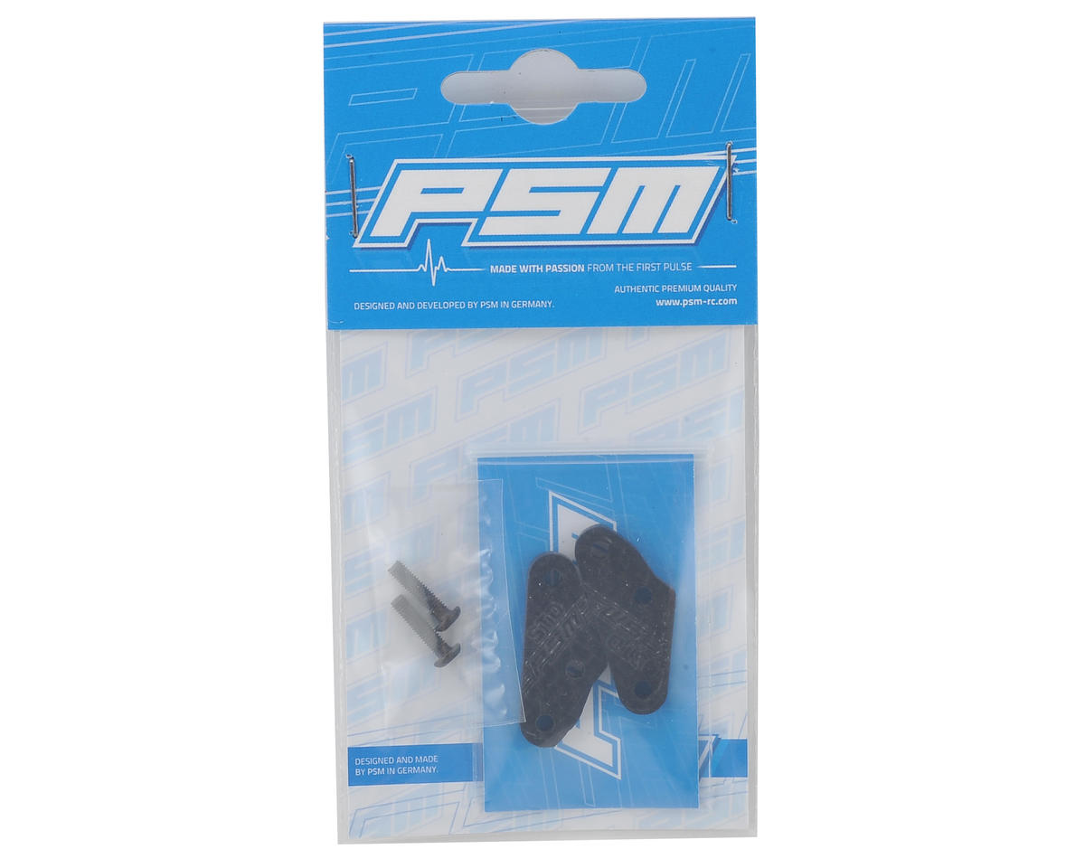PSM RC8B3 3mm Carbon Steering Link Extension (2) (Standard)