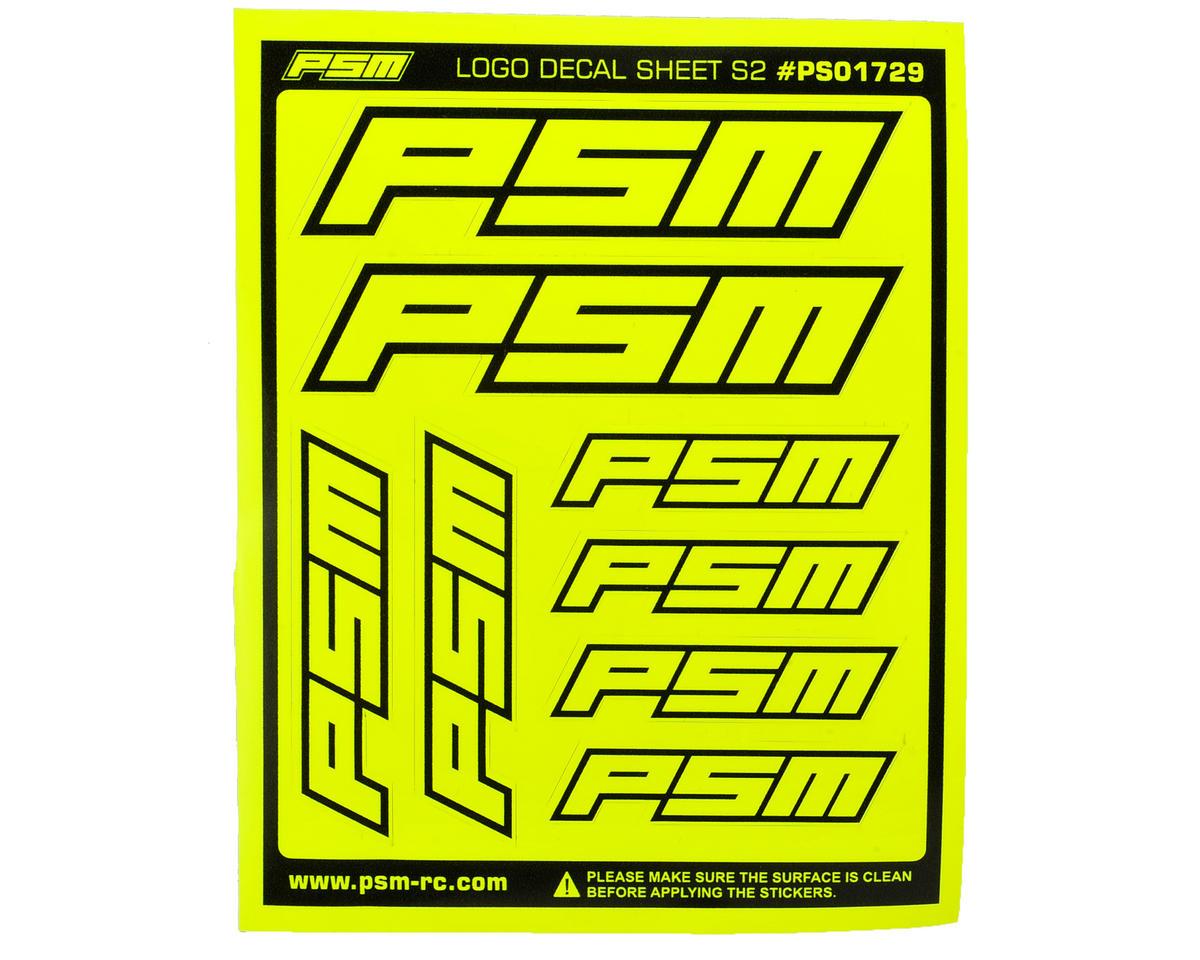 PSM S2 Sticker Sheet (Fluorescent Yellow)