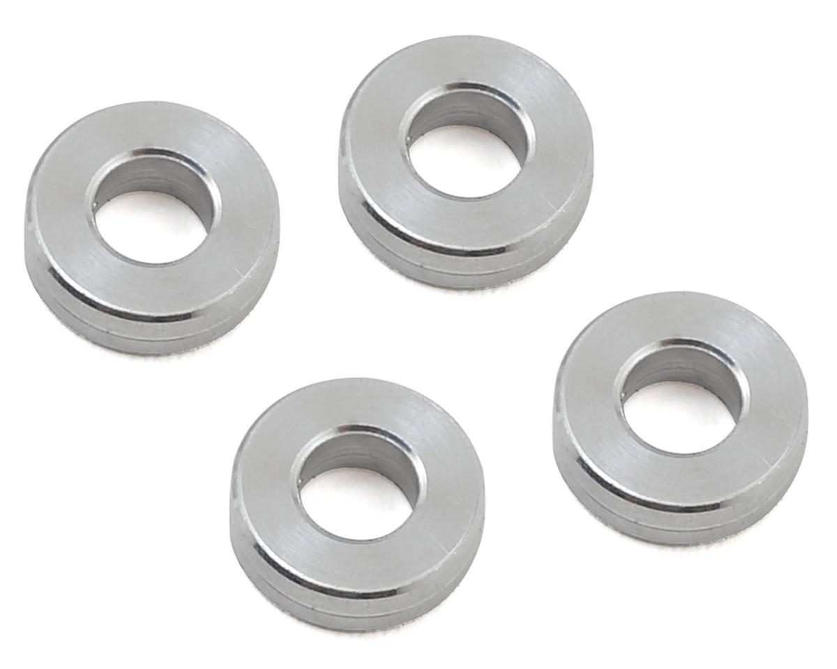RC8B3 Aluminum Anti Roll Bar Shim (Silver) (4) by PSM