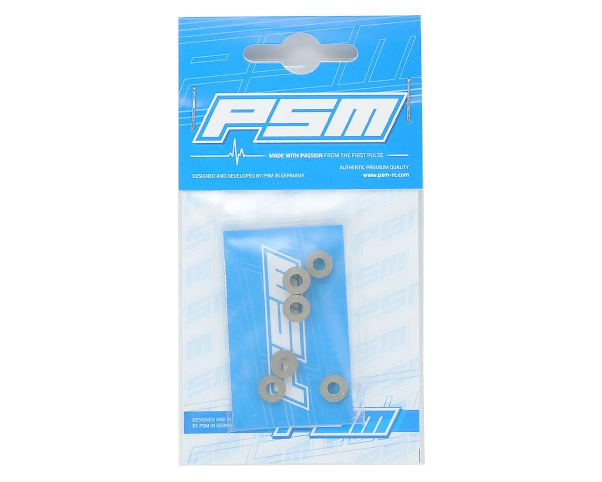 PSM Aluminum MP9 TKI4 Rear EV2 Hub Spacer Set (6)