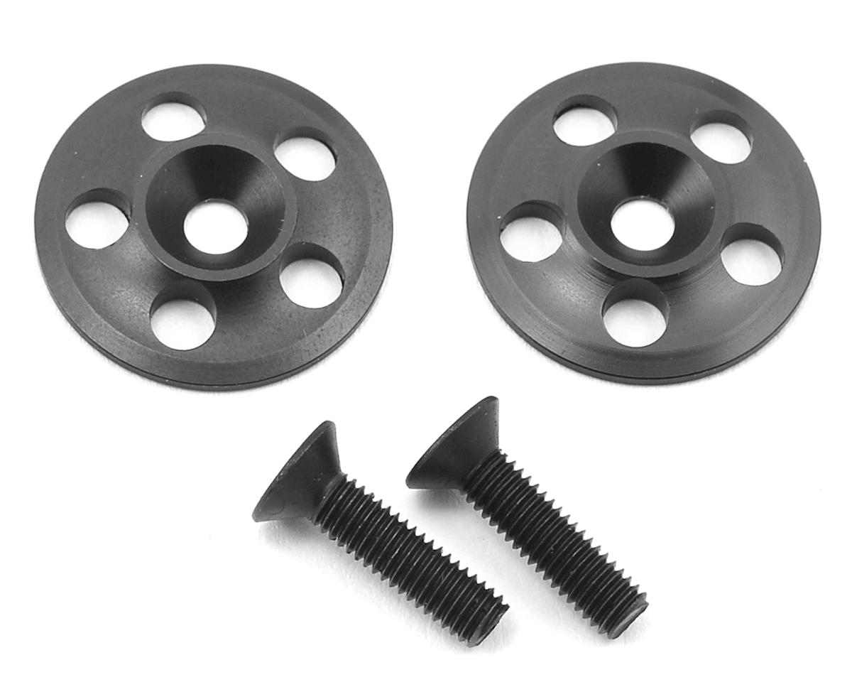 PSM Aluminum 1/8 UFO V2 Wing Buttons (Black) (2)