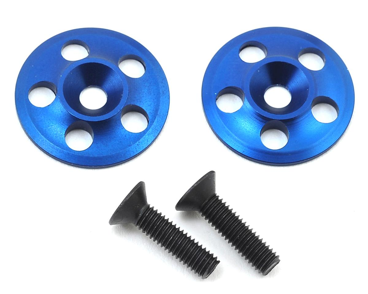 PSM Aluminum 1/8 UFO V2 Wing Buttons (Blue) (2)