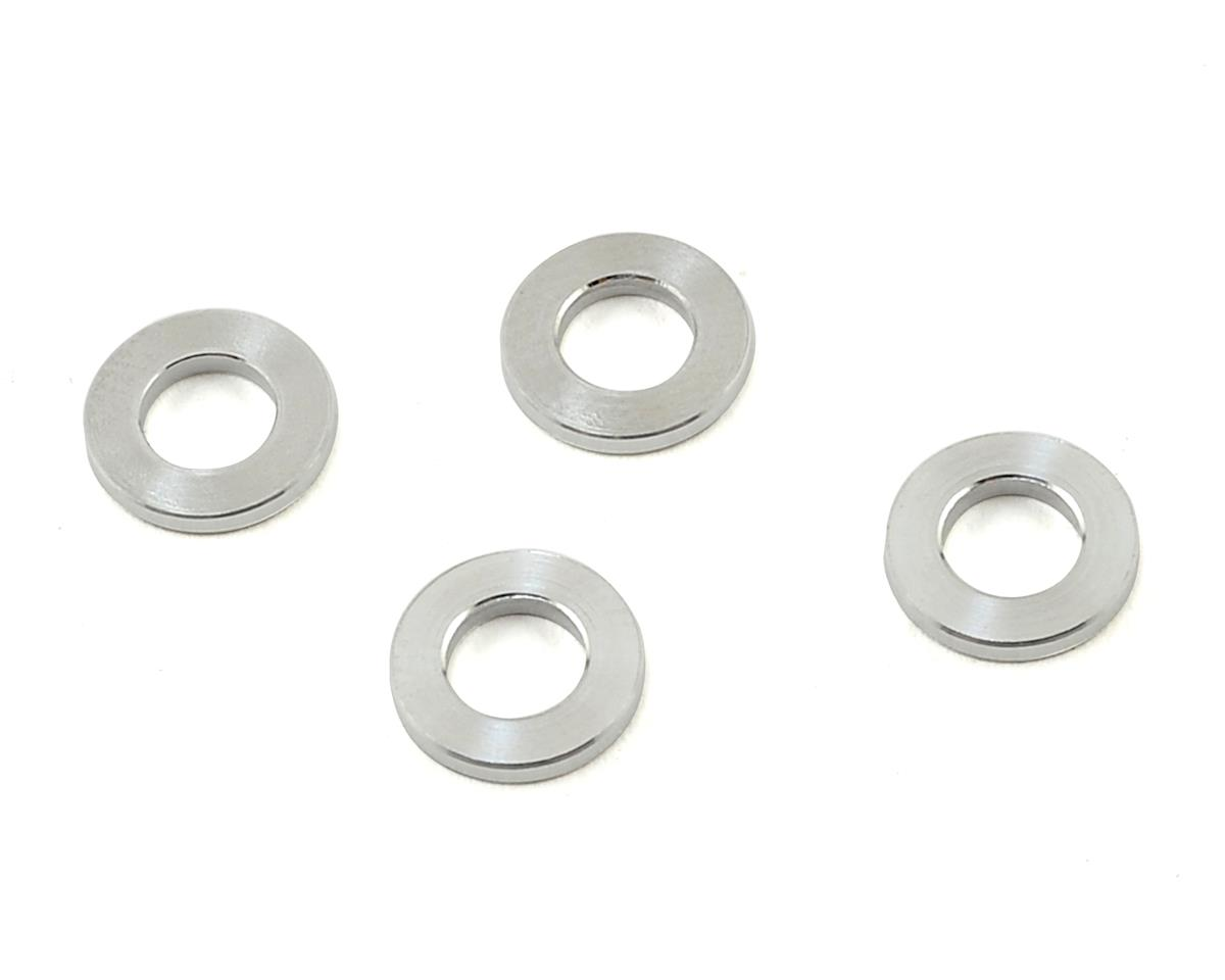 PSM MBX7R Aluminum Lower Arm Spacer Set (4) (Silver)