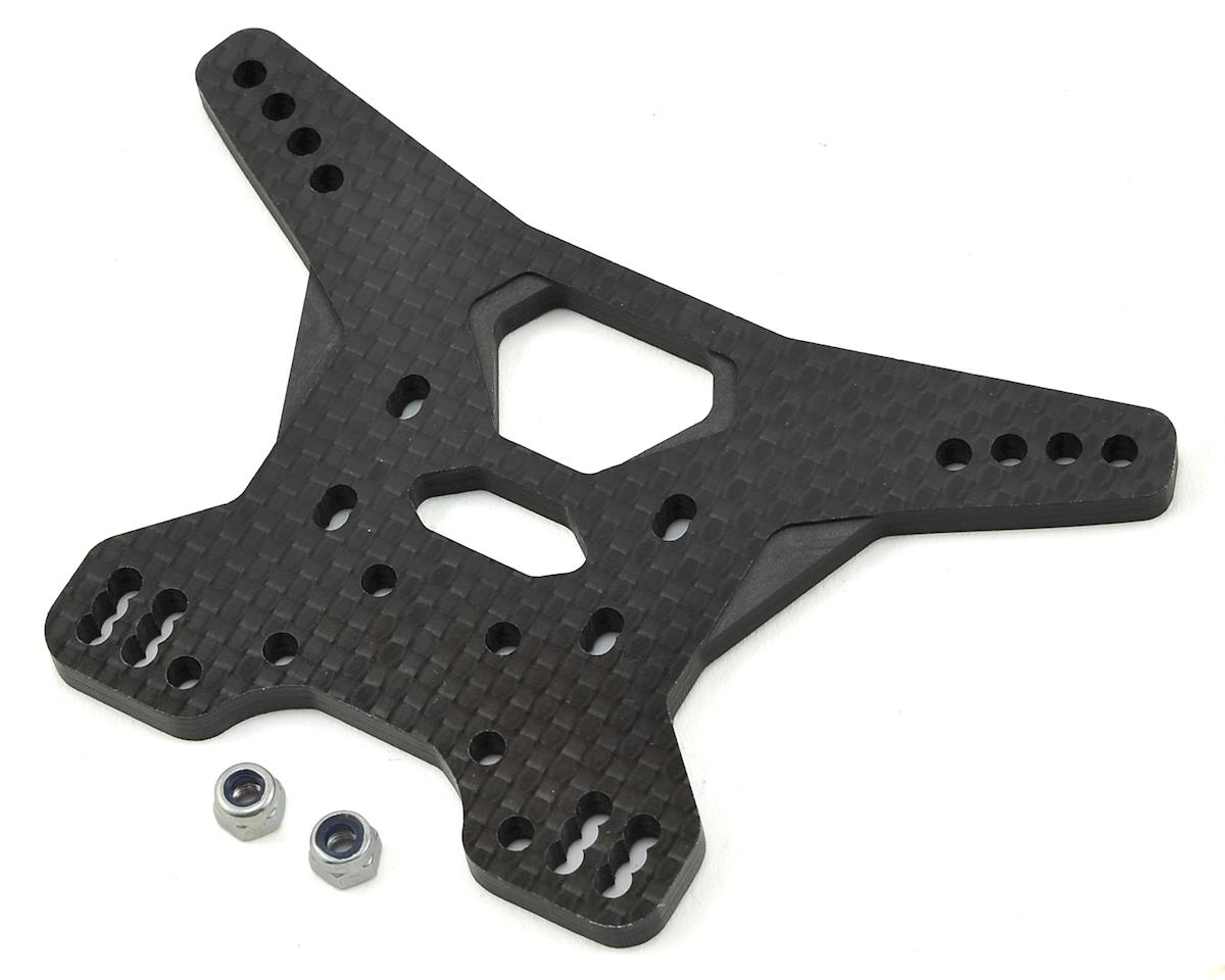YZ4 4mm Carbon Rear Shock Tower V2