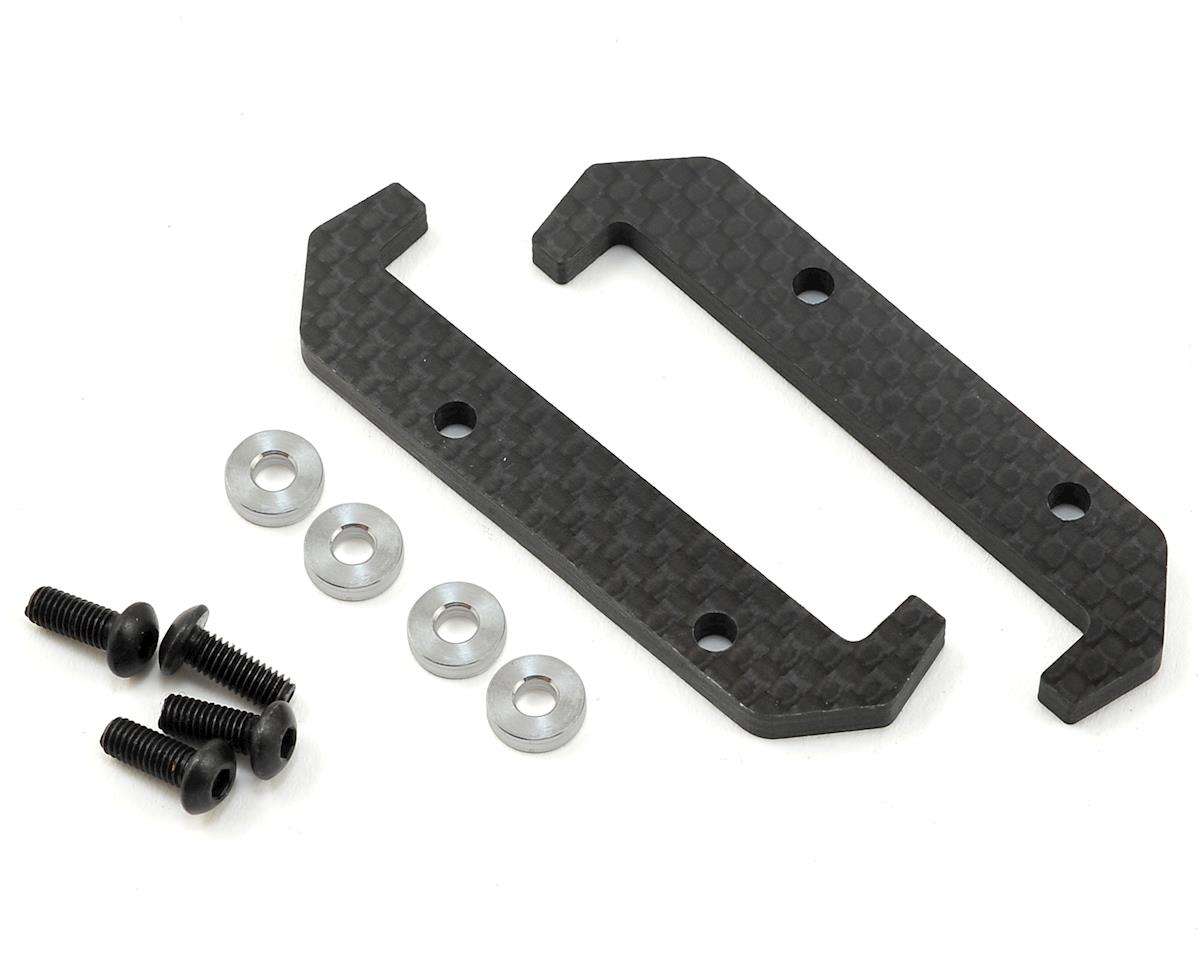 PSM YZ4 4mm Carbon Inline Centering Battery Braces (2)