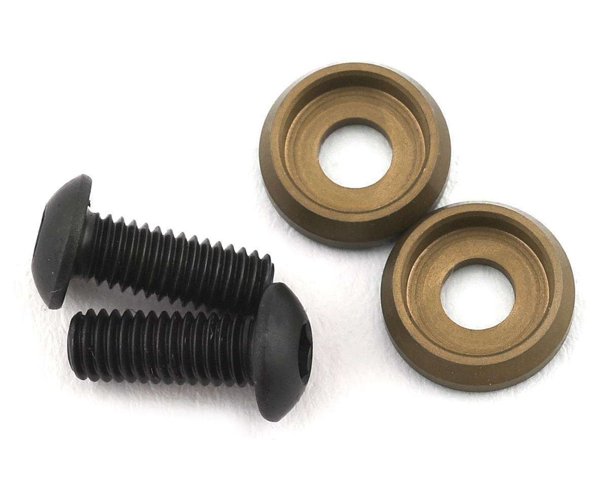 PSM Aluminum Motor Screw Washer w/Screws (EV2) (2)