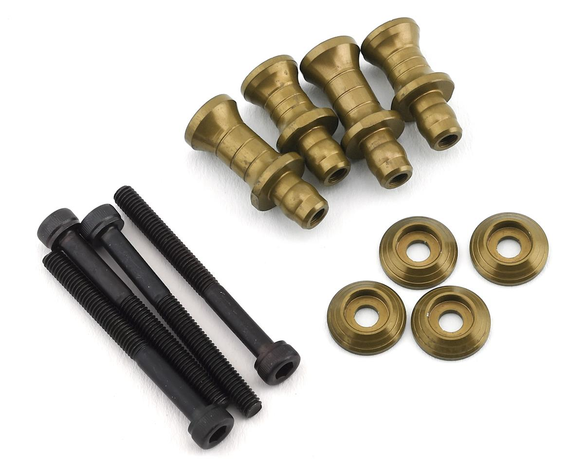 PSM Associated RC8B3 Aluminum Shock Standoff Set (EV2) (4) (+1/+4)