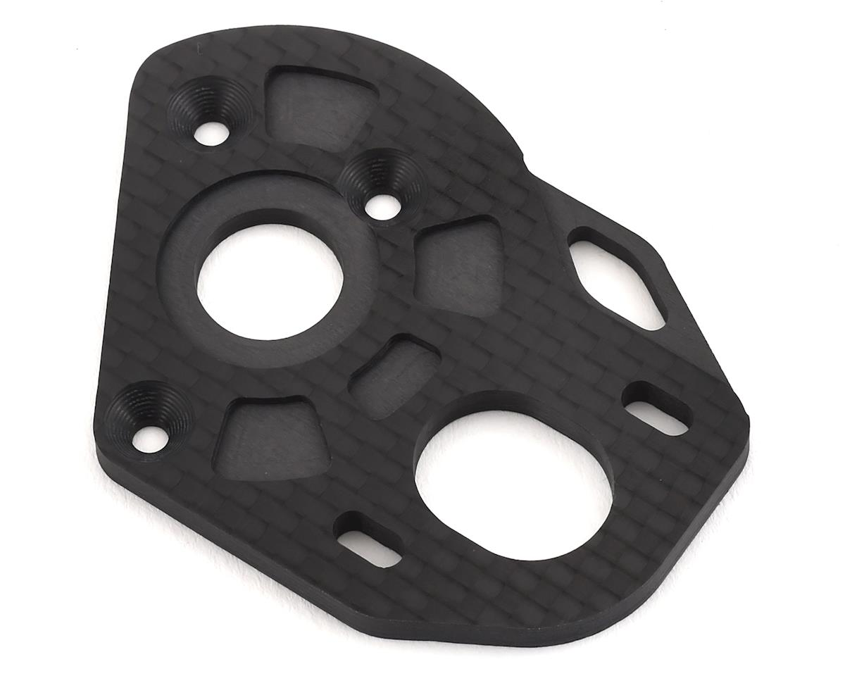 PSM Associated B6.1 Carbon Fiber Stock Motor Plate (3.5mm)