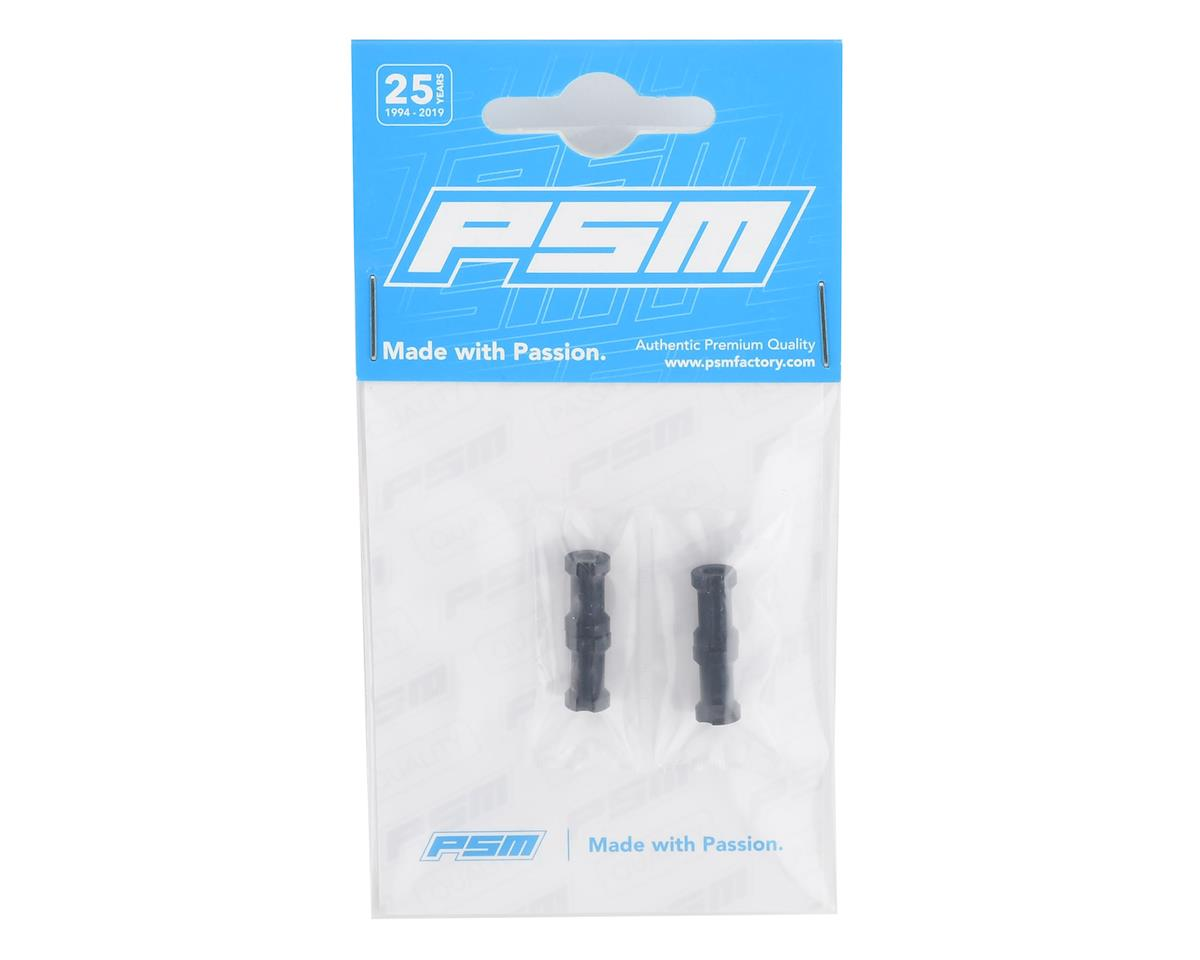 PSM Aluminum BD9 2019 Front/Rear Anti-Twist Bushings (Black) (4)