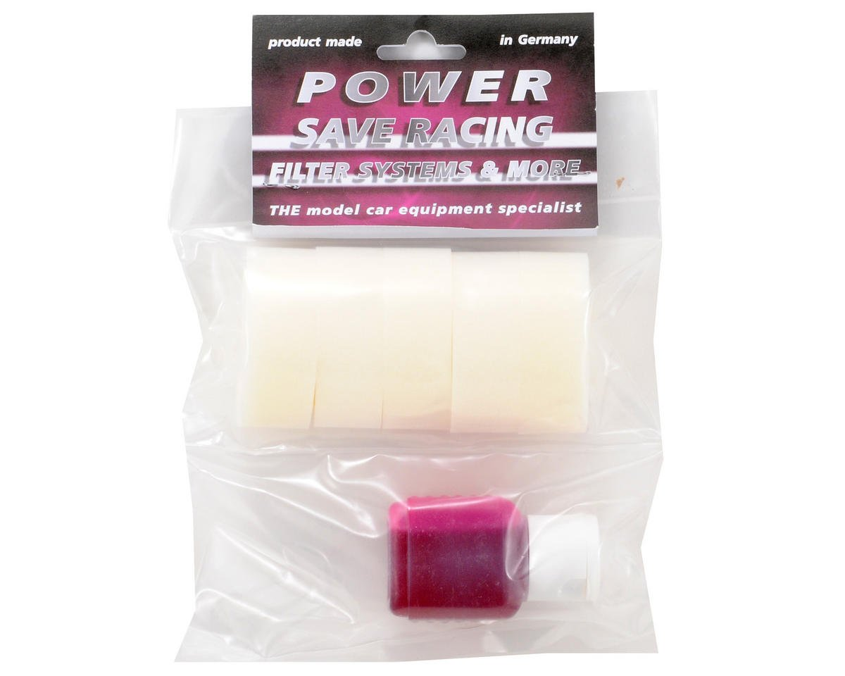 Power Save Racing 1/8 Off Road Air Filter Foam w/45ml Oil (JQ THE Car) (5)