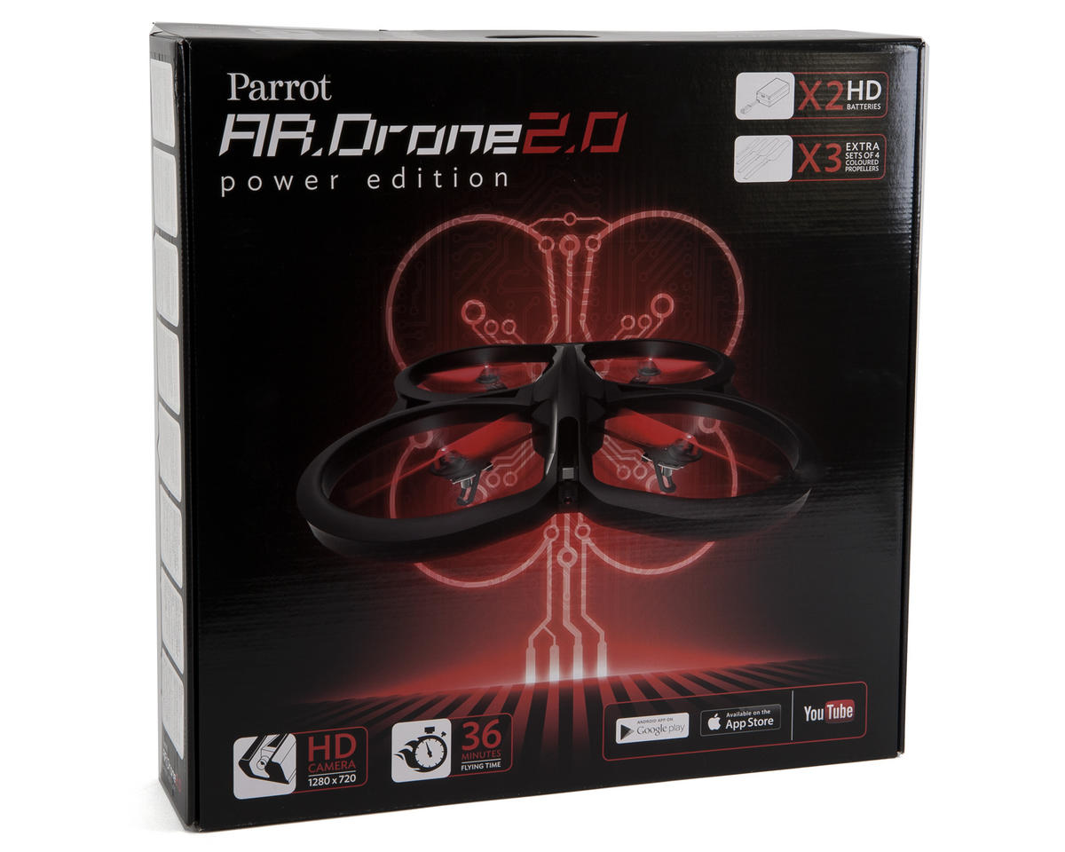 Parrot AR Drone 2.0 Power Edition Quadcopter