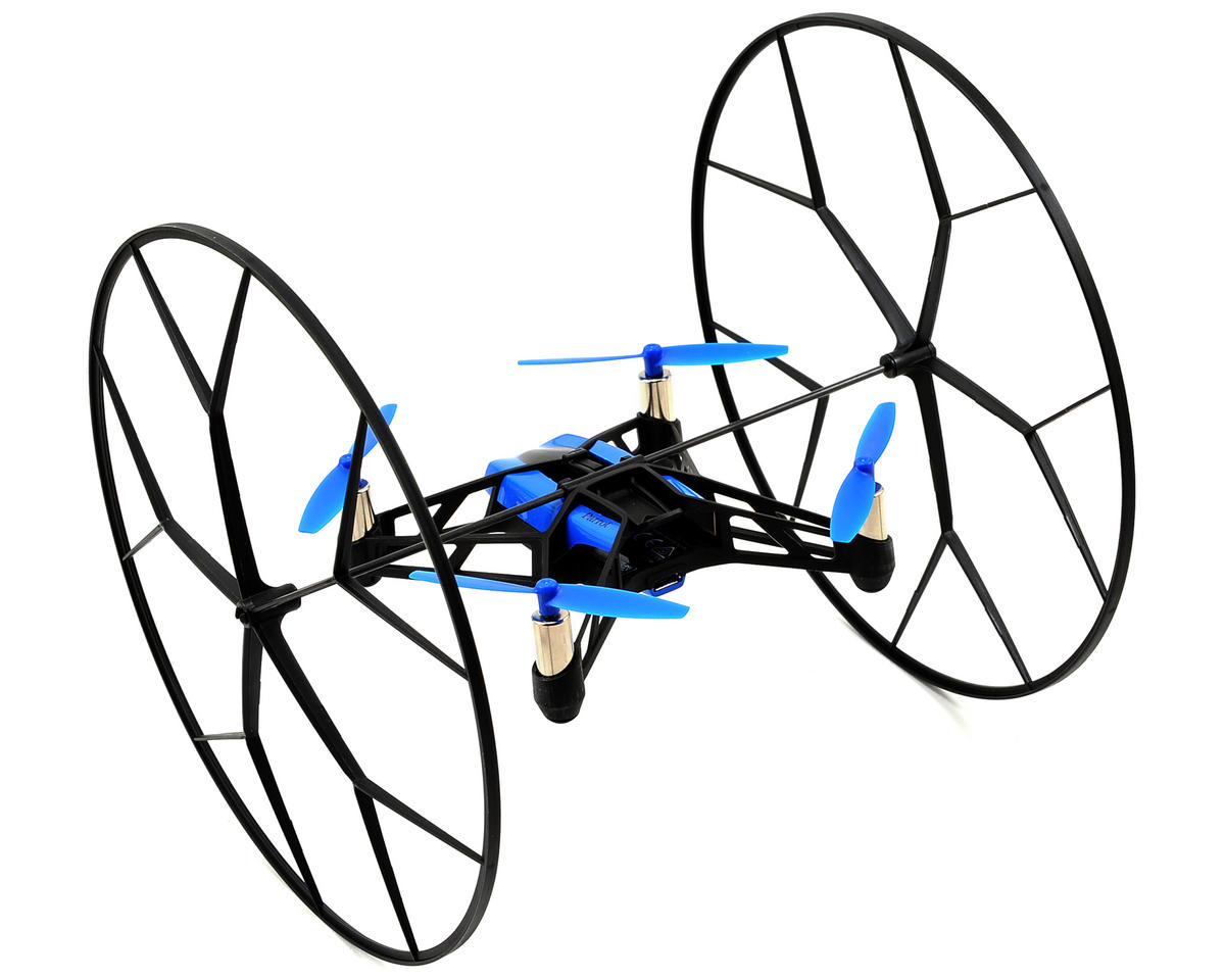 Parrot Rolling Spider RTF Micro Electric Quadcopter Drone (Blue)