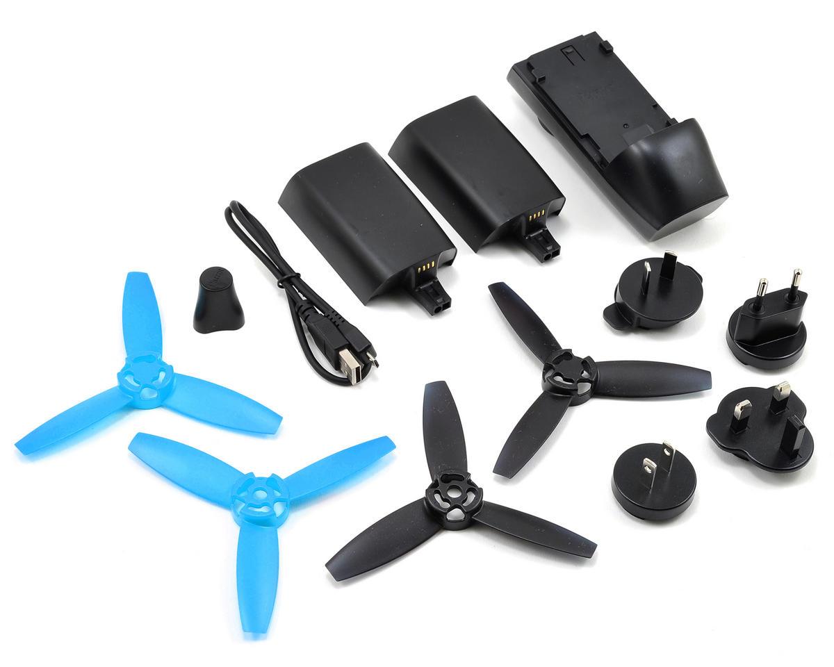 Parrot Bebop RTF Electric Quadcopter Drone & SkyController Bundle (Blue)