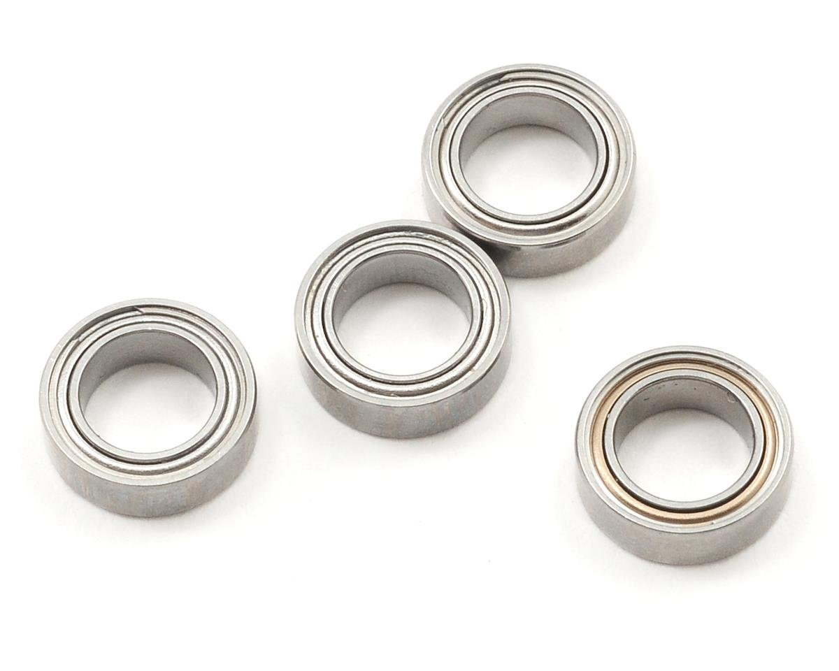 "5x8x2.5mm Metal Shielded ""Speed"" Bearing (4) by ProTek RC (Tekno NB48.3)"