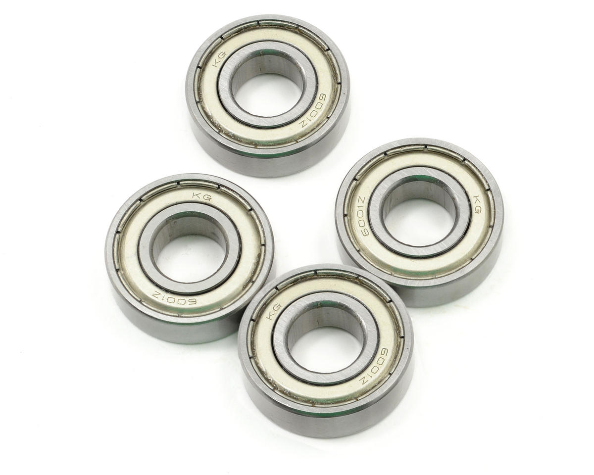"12x28x8mm Metal Shielded ""Speed"" Ball Bearing (4) by ProTek RC"