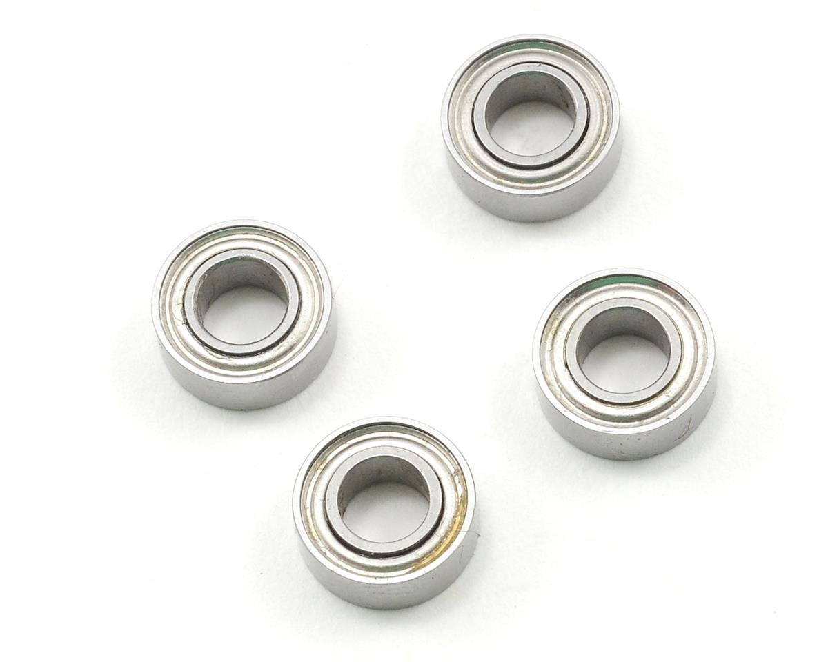"ProTek RC 4x8x3mm Metal Shielded ""Speed"" Bearing (4) (Schumacher CAT K1)"