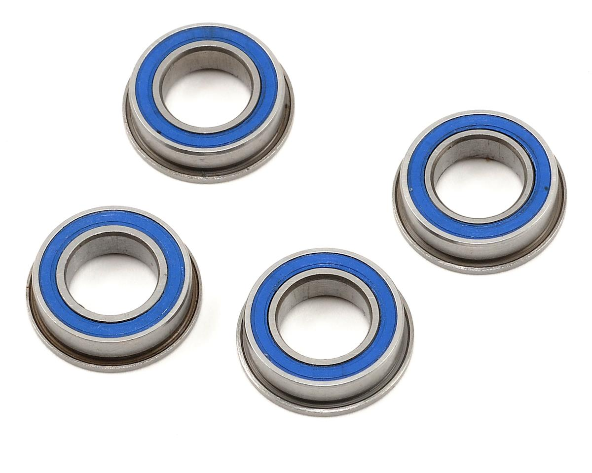 "8x14x4mm Rubber Sealed Flanged ""Speed"" Bearing (4) by ProTek RC"