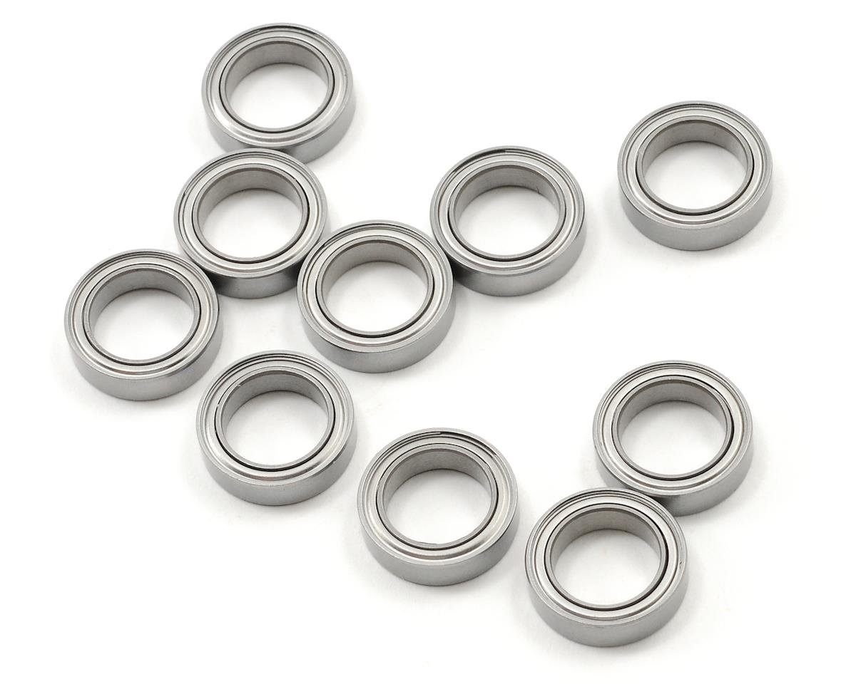 "ProTek RC 10x15x4mm Metal Shielded ""Speed"" Bearing (10) (Team Associated TC6)"