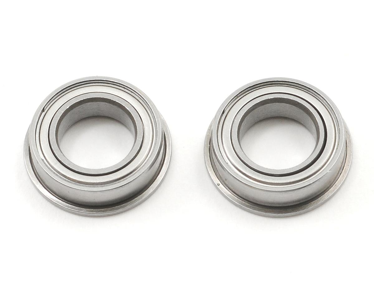 "8x14x4mm Ceramic Metal Shielded Flanged ""Speed"" Bearing (2) by ProTek RC"