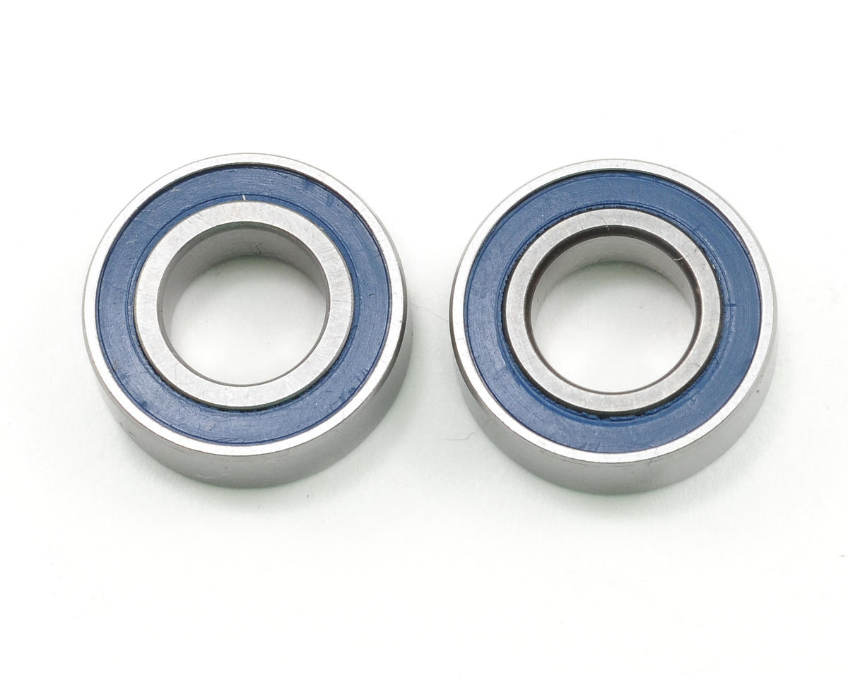 "8x16x5mm Ceramic Rubber Sealed ""Speed"" Bearing (2) by ProTek RC (JQ THE Car (White))"