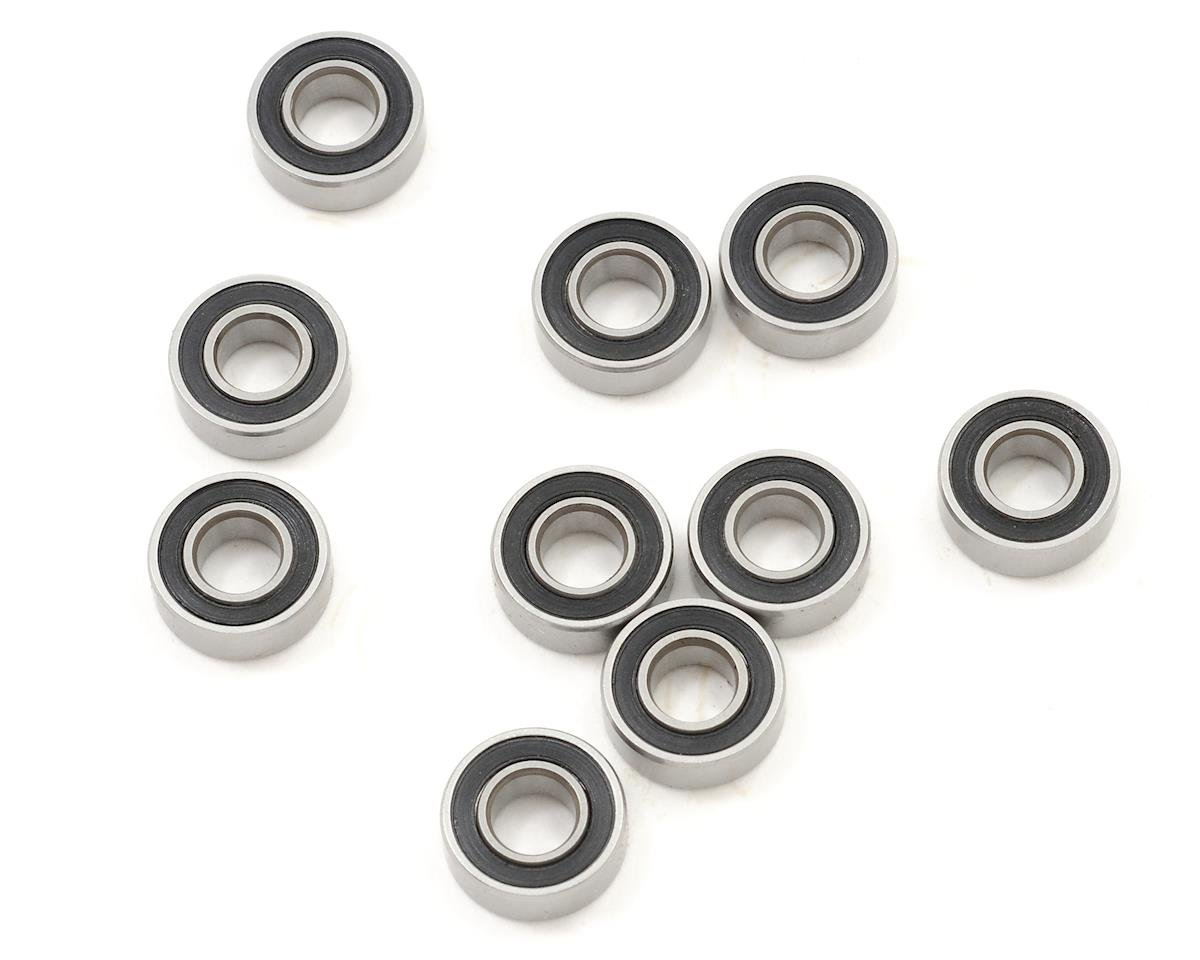 "5x11x4mm Rubber Sealed ""Speed"" Bearing (10) by ProTek RC (Tekno EB410)"