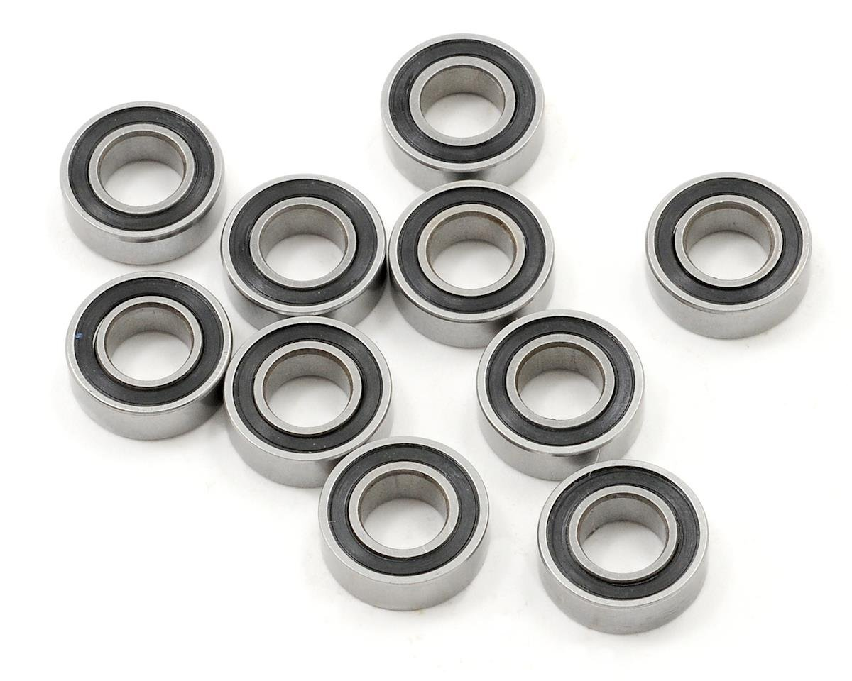 "ProTek RC 6x12x4mm Rubber Sealed ""Speed"" Bearing (10) (Losi TEN-SCTE)"