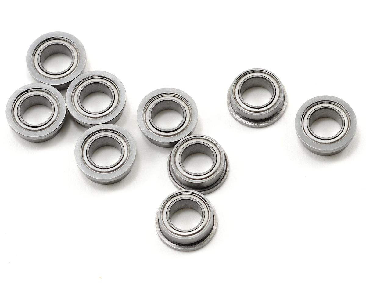 "3/16x5/16x1/8"" Metal Shielded Flanged ""Speed"" Bearing (10) by ProTek RC"